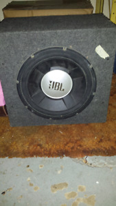 Blown speaker...box is in good condition