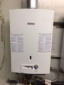 Bosch 520 PN LP on demand water heater