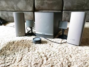 Bose Companion 3 Series ii and a Companion 20