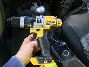 Brand new never used dewalt drill