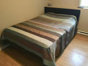 COMPLETE BEDROOM SET FOR SALE...8 PIECES - LESS THAN YEAR