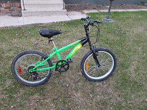 Children's 6 speed mountain bike