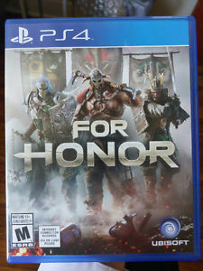 For Honor PS4 PLAYED ONCE