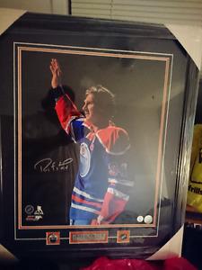 Framed Signed Ryan Smyth Final Game Photo with COA