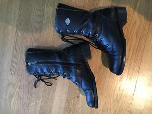 HARLEY DAVIDSON ladies RIDING boots SZ