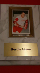 **Hockey**Card**Plaques**On**sale**Today**Only**
