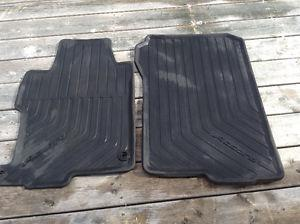 Honda Accord front and rear car mats. Will also fit