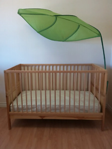 Ikea crib and change table