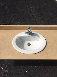 Laminate countertop and sink for sale