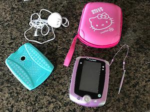 Like new French leap frog 2 with accessories