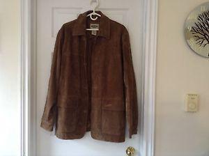 Men's Leather jacket - size medium