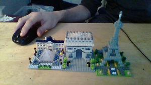 Nanoblocks 10 building sets from all over. All 10 for $40