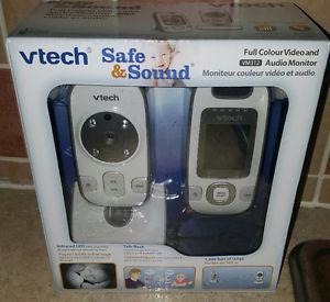 New video &audio baby monitor