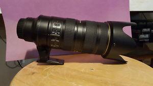 Nikon AF-S  f/2.8G ED VR II Lens Will deliver to