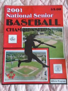 Official Program - National Senior Baseball