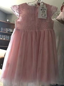 Pink dress size-1-2years old $