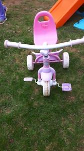 Princess toddler bike