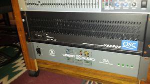 Qsc usa 900 power amp
