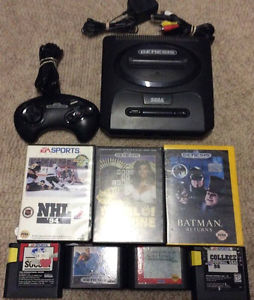 Sega Genesis With Controller and 7 Games!!