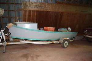 Spring/Fall Oyster License, dory/trailer.  Dodge Ram