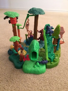 The Complete Tarzan and Jungle Friends McDonald's Playset