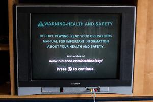 "Toshiba 27"" TV + Remote"