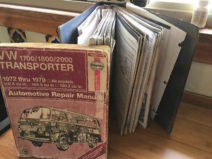 VW Van Repair Manuals  neg.