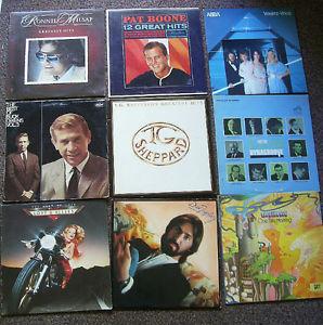 Various LP Records -- OLDER