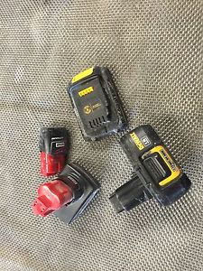 Wanted: Looking to buy OLD drill and Paslode batteries