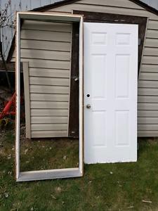 32 inch Exterior Door.