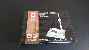 3D puzzel of the CN Tower
