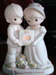 50th Anniversary Precious Moments Figurine