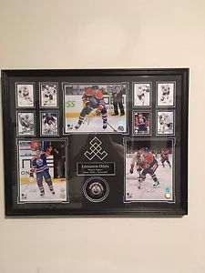 Autographed framed oilers picture $250 obo