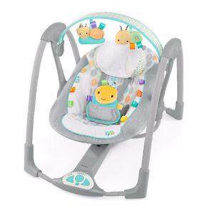 BABY SWING WITH MUSIC AND SOOTHING SOUNDS