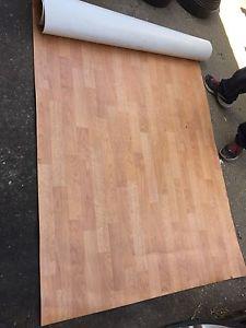 Big role of linoleum flooring