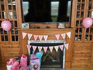Birthday Decorations for a girl