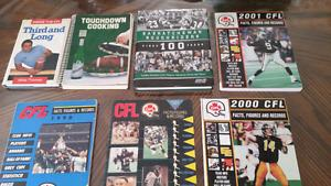Bundle of Canadian Football League Books Great for the