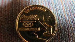 Coca-Cola Olympic token