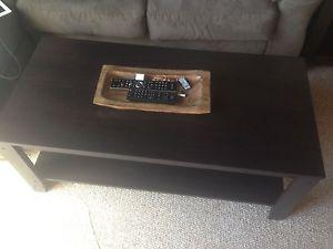 Coffee table, Tv stand and 2 side tables