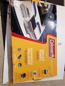 Coleman Solar Panel CL-600 with 600mA and 10ft power cable
