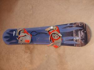 Crazy Creek snowboard & Firefly size 8 board boots
