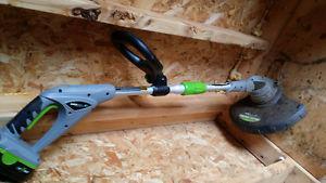 Earth wise 18 volt wiper snipper