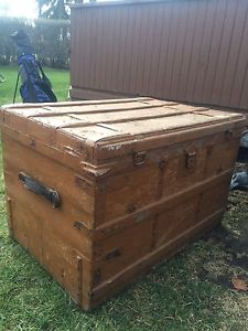 For sale: large antique trunk -$150. OBO