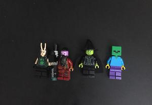 Lego guardians of the galaxy minifigures and sets plus