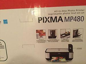 NEW***CANON ALL IN ONE PHOTO PRINTER - PIXMA MP480