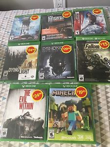 New xbox one games 50$ for all