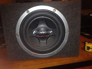 PIONEER DUAL VOICE COIL SUBWOOFER