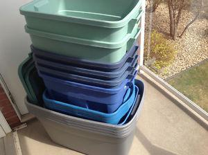 Plastic Storage Containers Misc Sizes & Lids