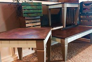 REDUCED to sell: coffee table set