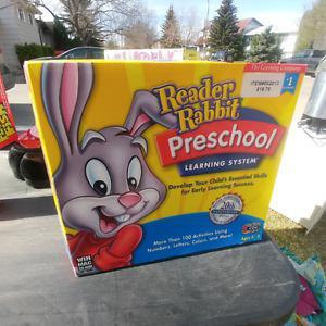 Rabbit preschool learning system!